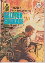 Leisure World Libraries War Comic # 9
