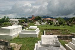 Sauteurs cemetery at Leapers Hill