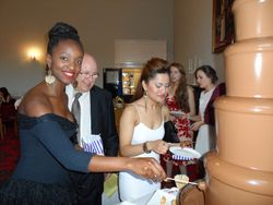 Chocolate Fountain Hire Lincoln University summer Ball