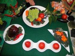 Vegetable Arrangements