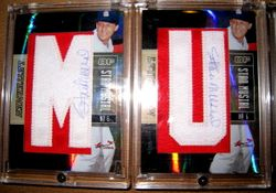 2005 Donruss Playoff Signed Stan Musial Lettermen Cards