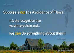 Know your Flaws to get to Success