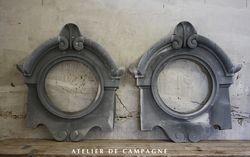 SOLD #22/117 2 Zinc Oeil de Boeufs SOLD
