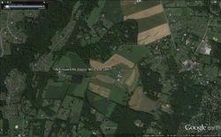 Google Eart Screenshot of Dayton farm