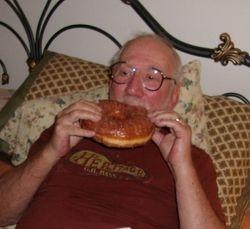 I like huge donuts!