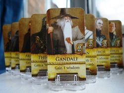 Middle Earth Quest Game Pieces Cards