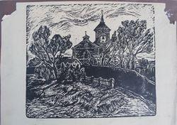 Grafika Elena Jakutyte, 1942 m. Kaina 67 Eur.