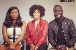 Demetria McKinney visit Shamika Sanders and Rae Holliday on Hello Beautiful