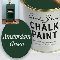 Amsterdam Green Chalk Paint Annie Sloan