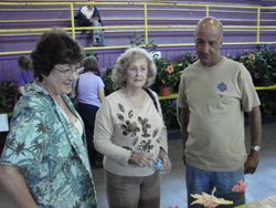 Dottie, Barbara and Steffan from RSHA chapter-photo by Damon Veach