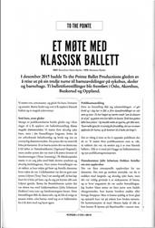 Et møte med klassisk ballett