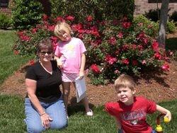 Judy, Emma and Carter Herman