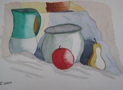 Ceramics & Fruit