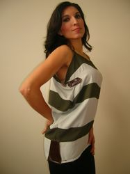 Straps Military Top $35