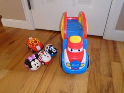 Oball Go Grippers Car Carrier with Cars - $30