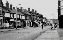 Smethwick High Street. c 1950s.
