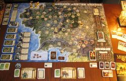 Middle Earth Quest Game Board