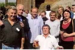 Tony White, Ted Fretwell, Mal Sanders, Jim and Tim Fitzmaurice