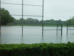 Flooded South U10 / Ball fields
