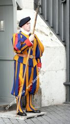 Swiss Guard at St. Peter's