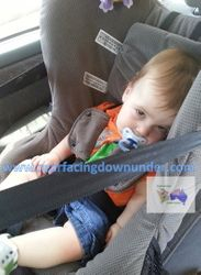 12 months old Safe-n-Sound Guardian Rear-Facing