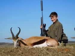 Nate and his Springbuck