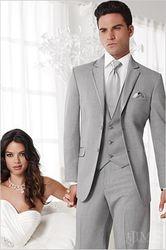 Grey Two Button Notch Savoy!