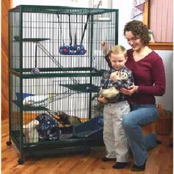 XLarge Marshall 4 Level Ferret Cage