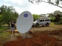 IPSTAR Broadband Install