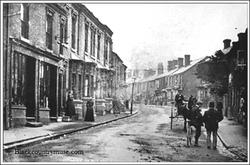 Hagley Road, Halesowen. c1900.