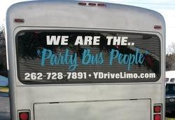 #5 Party Bus Rear