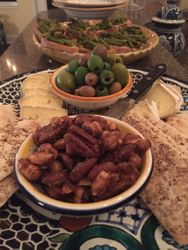 Dinner Party Appetizer Spread