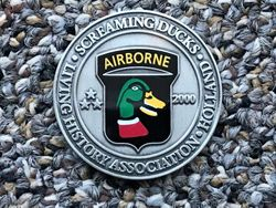 502/A, Screaming Ducks Challenge Coin