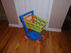 American Plastic Toys Deluxe Shopping Cart - $12