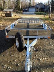 12' Flat deck trailer