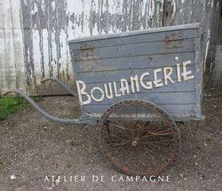 SOLD  #21/069 Boulangerie Cart SOLD