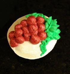 Grapes cupcake