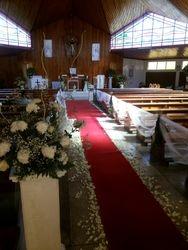 wedding church deco ideas