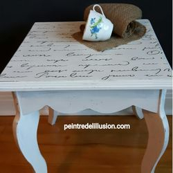 Petite table Pure White