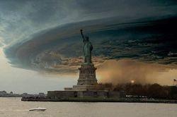 Statute of Liberty Greets Sandy