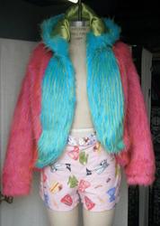 fun furry jacket