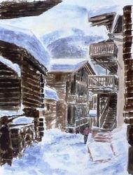 Old town, Zermatt