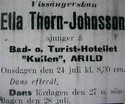 Turisthotellet Kullen 1918