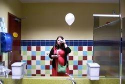 Me With White Balloon