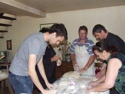 atelier pain à l'occasion de notre brocante