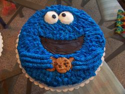 1st Bday Cookie Monster