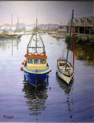 Two boats, Mevagissey