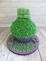 Hulk Giant Cupcake