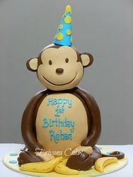 3d Mod Monkey Cake  2
