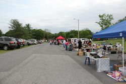 A view of all the vendors